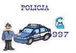 Odwiedziny policjantów w przedszkolu.